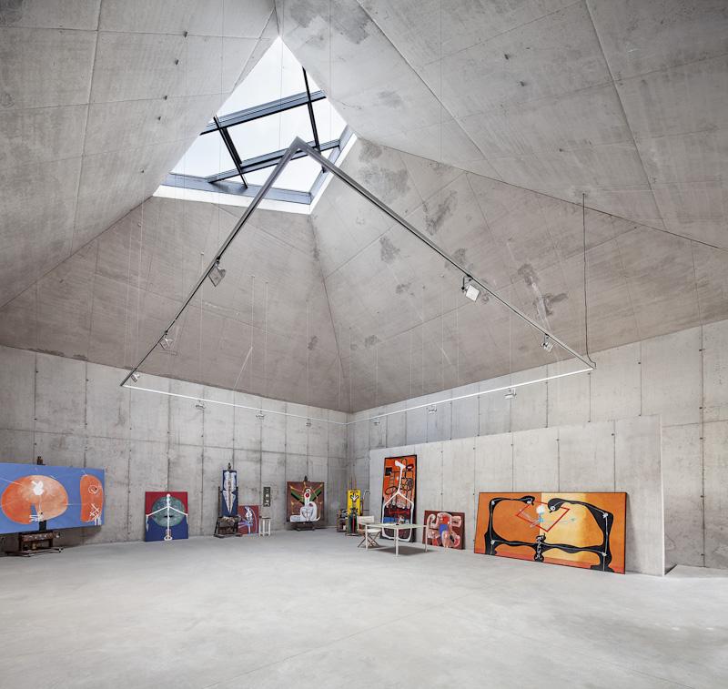 Taller pel pintor Arranz Bravo - Garcés - de Seta - Bonet