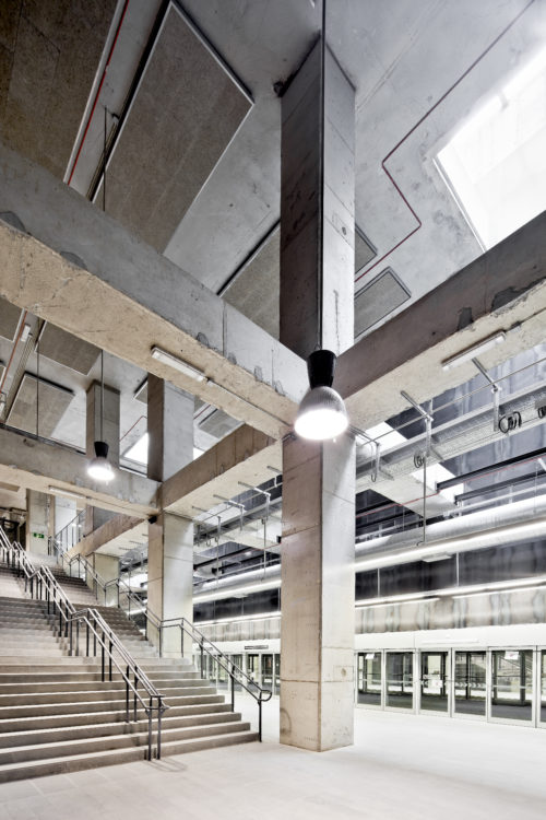 Trois stations metro L9 - Garcés - de Seta - Bonet