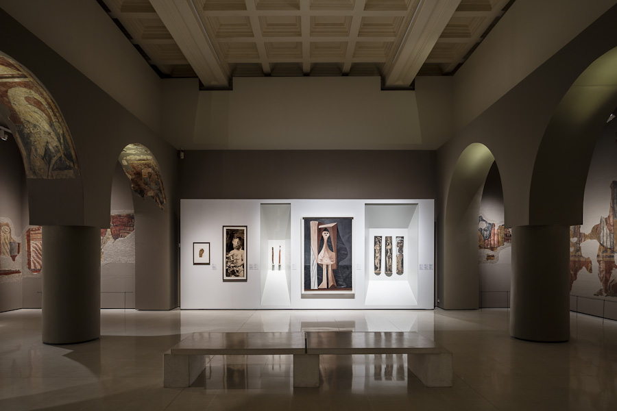 Picasso-Romànic Exhibition - Garcés - de Seta - Bonet