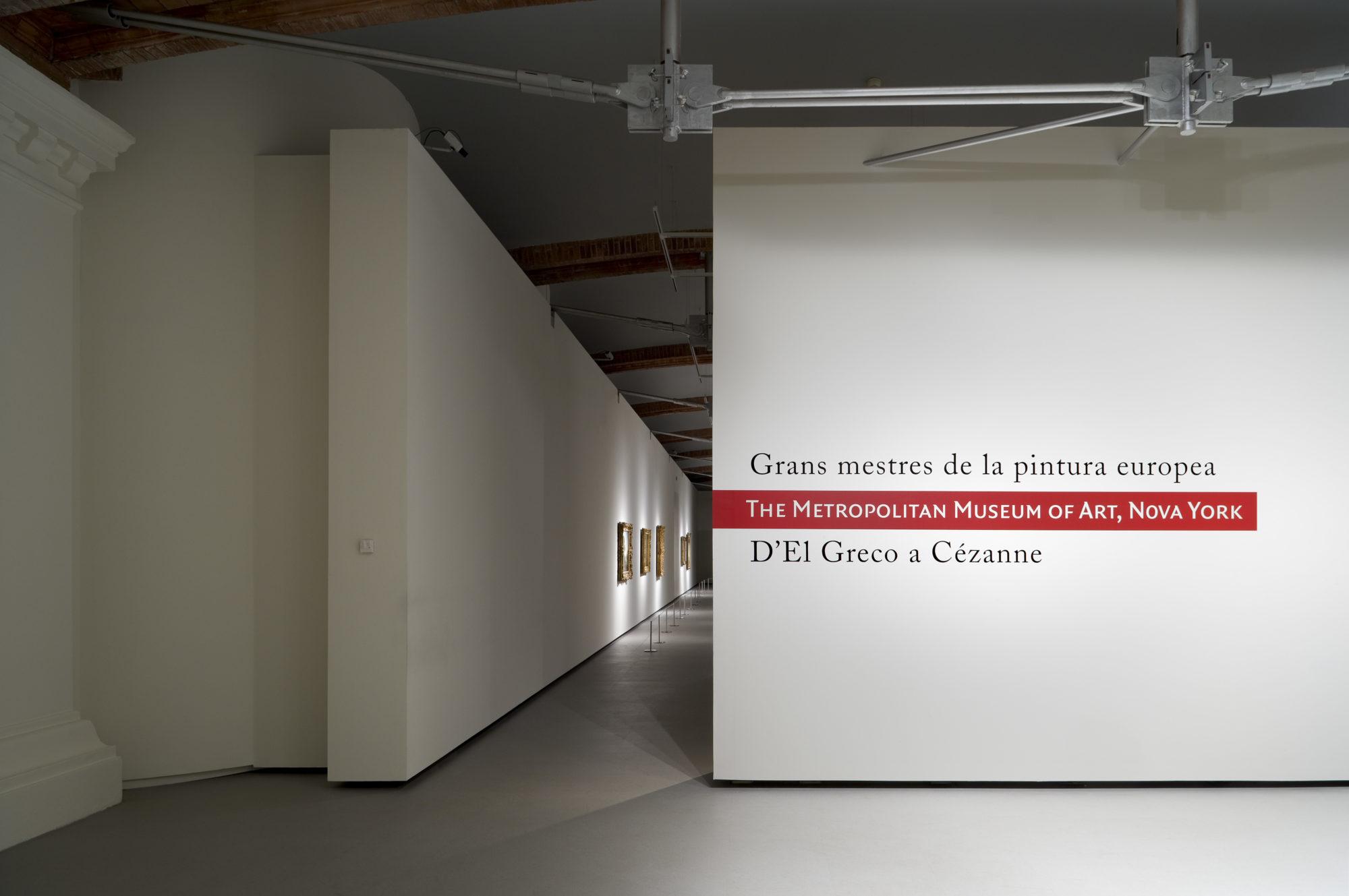 Sala d'exposicions temporals al Museu Nacional d'Art de Catalunya - Garcés - de Seta - Bonet