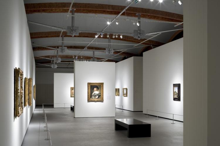 Salle d'expositions temporaires au Musée National d'Art de Catalogne - Garcés - de Seta - Bonet