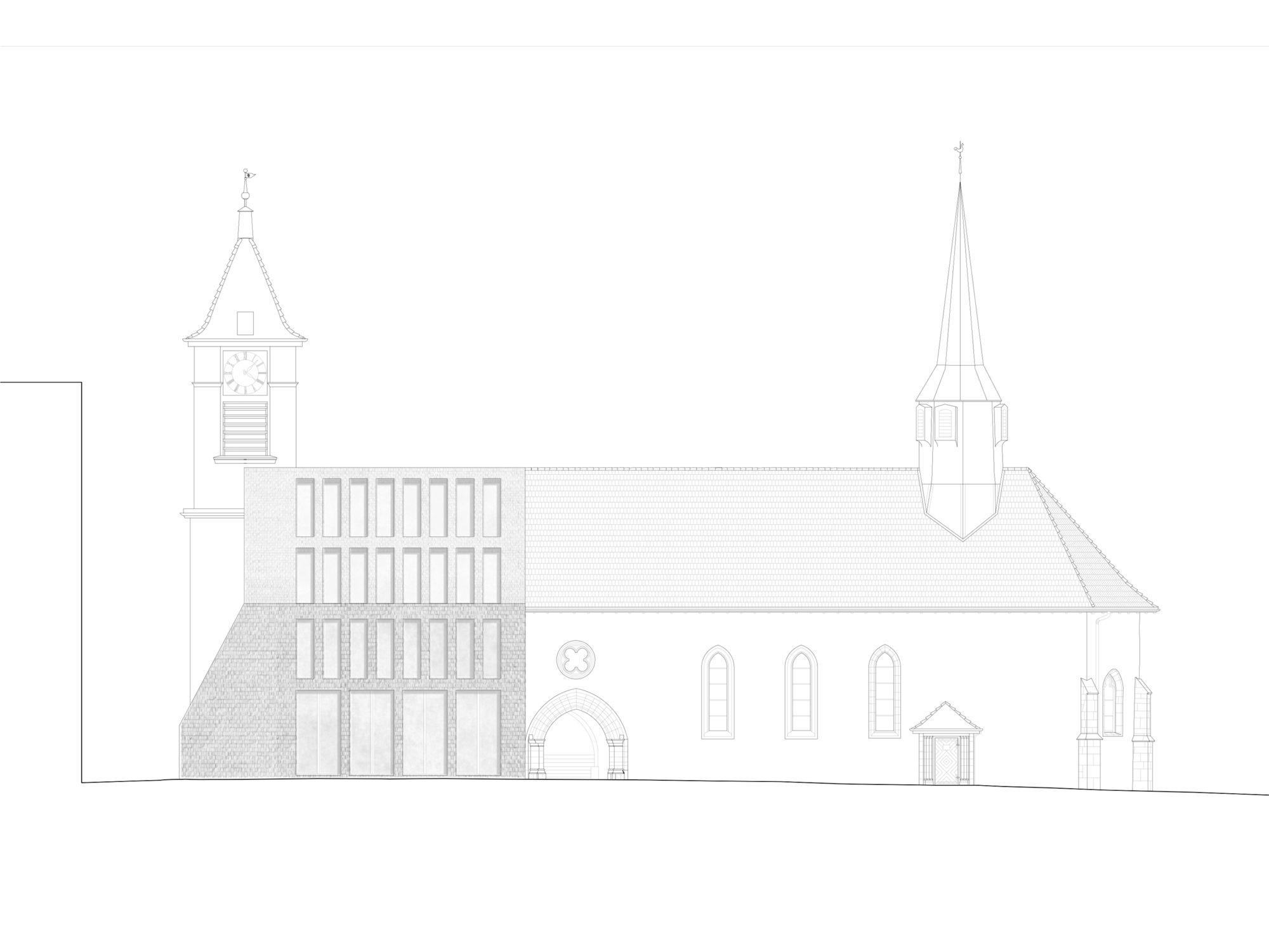 Rehabilitació de l'edifici Prieuré i l'Archeolab de Pully - Garcés - de Seta - Bonet