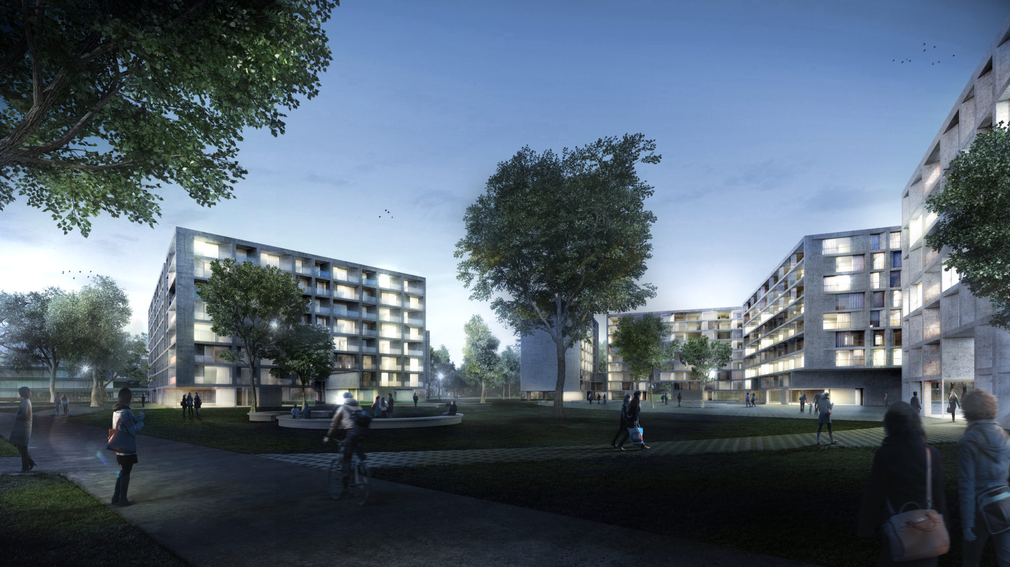 Habitatges a Carouge - Garcés - de Seta - Bonet