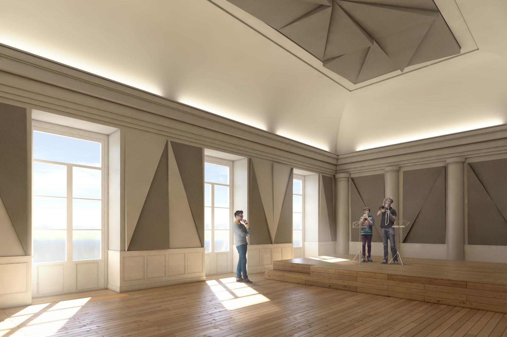 Conservatorio de Música de Ginebra - Garcés - de Seta - Bonet