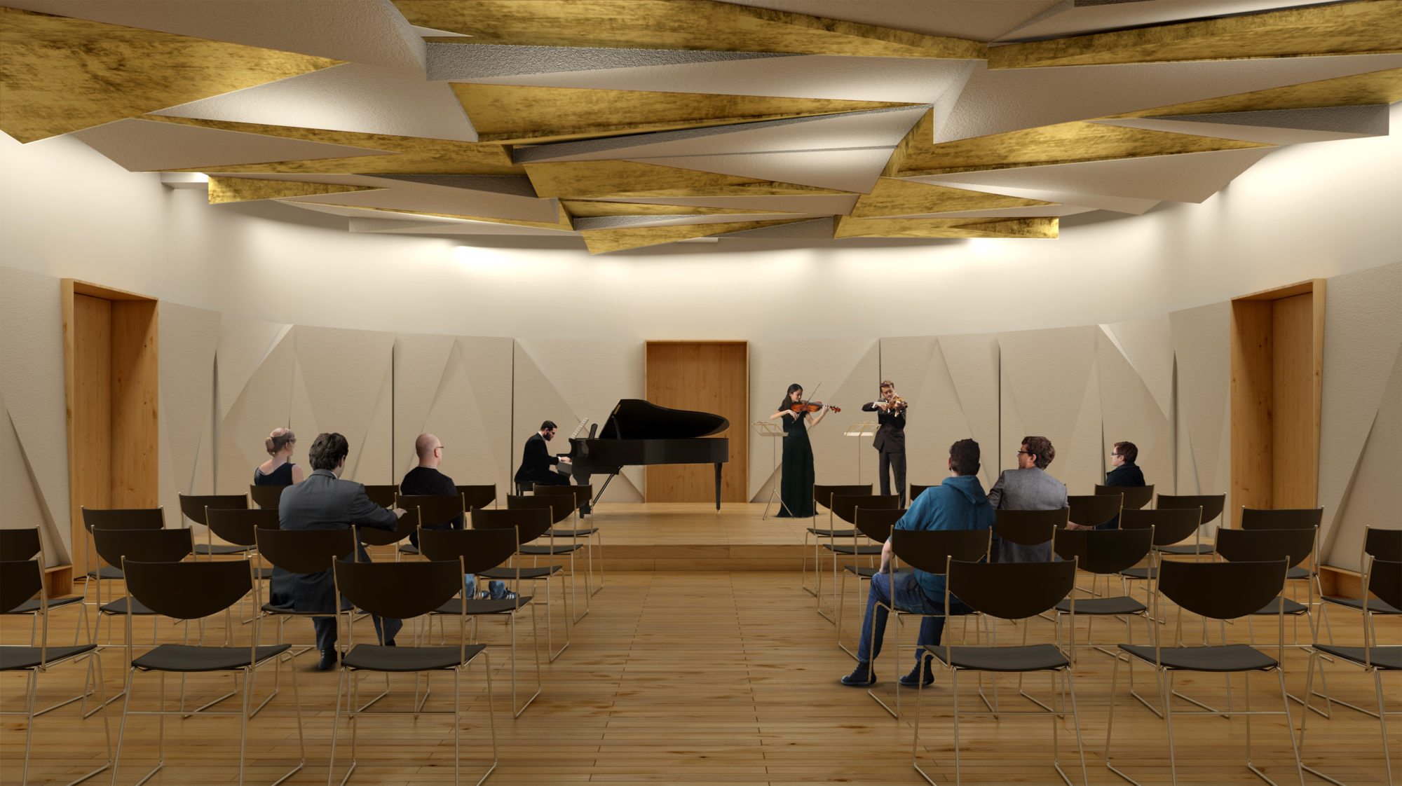 Geneva Music Conservatory - Garcés - de Seta - Bonet