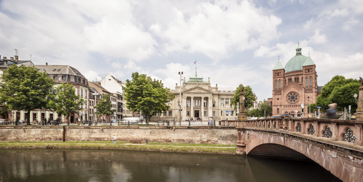 Palau de Justícia d'Estrasburg - Garcés - de Seta - Bonet