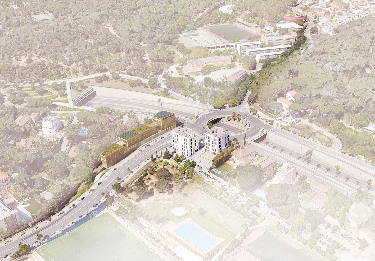 new territorial headquarters of the Urban Guard - Garcés - de Seta - Bonet